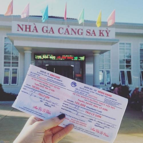 Thuê xe Đà Nẵng đi Đảo Lý Sơn